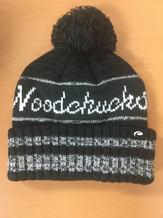 Woodchucks Charcoal Pom Hat